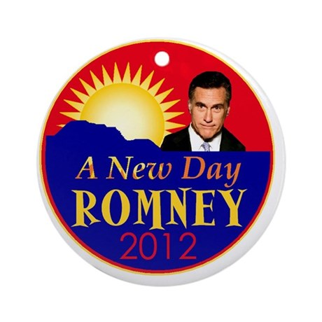 Romney 2012 Round Ornament