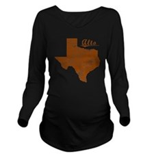 Alto, Texas (Search  Long Sleeve Maternity T-Shirt