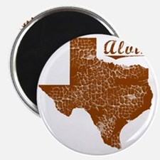 Alvin, Texas (Search Any City!) Magnet