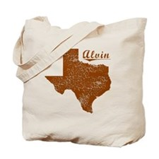 Alvin, Texas (Search Any City!) Tote Bag
