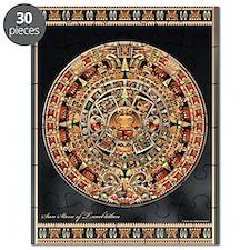 Sun Stone of Ancient Tenochtitlan Puzzle