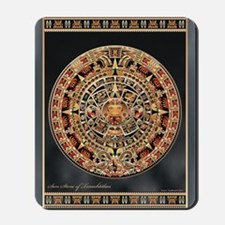 Sun Stone of Ancient Tenochtitlan Mousepad
