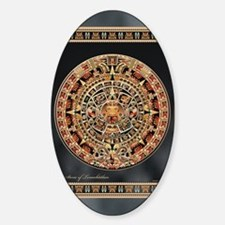 Sun Stone of Ancient Tenochtitlan Decal