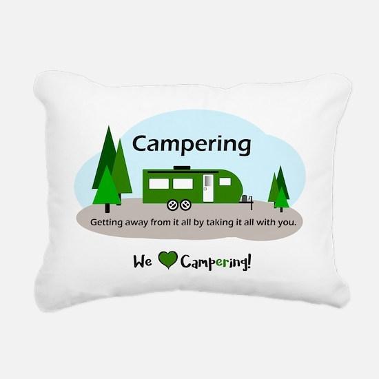 Cute Camper Rectangular Canvas Pillow