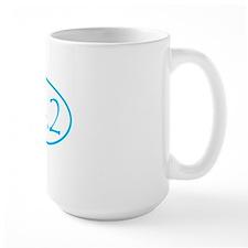 marathon shirt-sky blue Mug