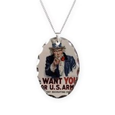 I want you for US Army Necklace
