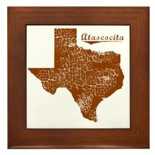 Atascocita, Texas (Search Any City!) Framed Tile