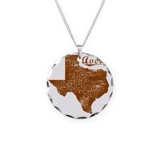 Avery, Texas (Search Any Cit Necklace Circle Charm