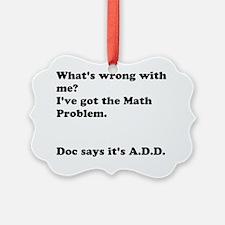 ADD Problem Ornament