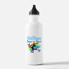 BORN TO SKATE Water Bottle