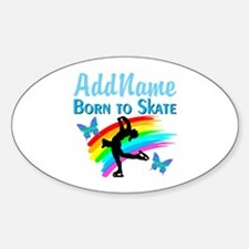 BORN TO SKATE Decal