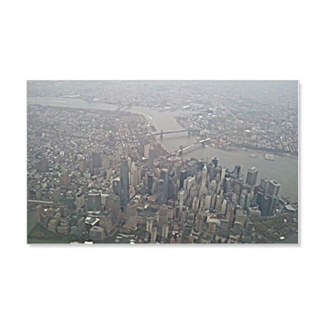 New York up high 20x12 Wall Decal