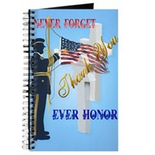 Large Poster Never Forget-Ever Honor Journal