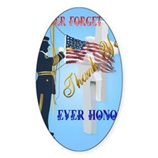 Large Poster Never Forget-Ever Hono Decal