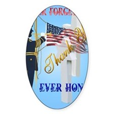 Never Forget-Ever Honor Decal