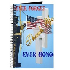 Never Forget-Ever Honor Journal