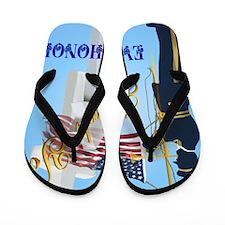 Never Forget-Ever Honor Flip Flops