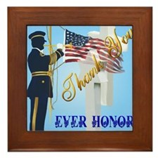 Never Forget-Ever Honor Framed Tile