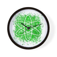 Cool Nuclear Splat Wall Clock