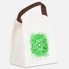 Cool Nuclear Splat Canvas Lunch Bag