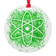 Cool Nuclear Splat Ornament