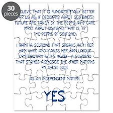 Yes Scotland Puzzle