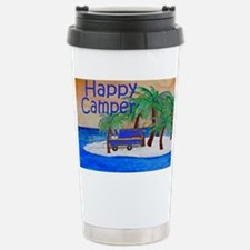 Happy Camper yard sign Stainless Steel Travel Mug