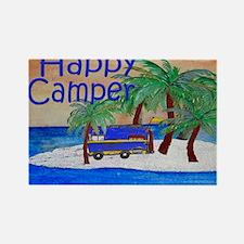 Happy Camper yard sign Rectangle Magnet