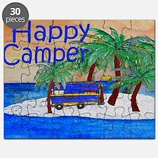 Happy Camper yard sign Puzzle