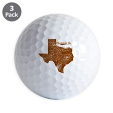 Chapman Ranch, Texas. Vintage Golf Ball