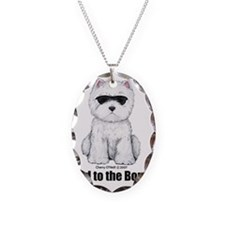 Bad to the Bone Westie! Necklace