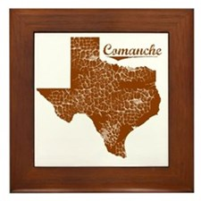 Comanche, Texas (Search Any City!) Framed Tile