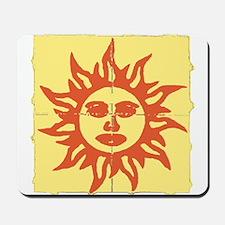 Orange Sunshine Tab Mousepad