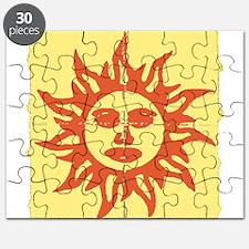Orange Sunshine Tab Puzzle