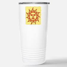 Orange Sunshine Tab Travel Mug