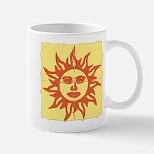 Orange Sunshine Tab Mugs