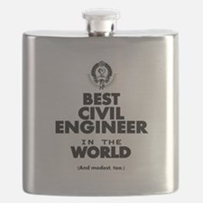 The Best in the World – Civil Engineer Flask