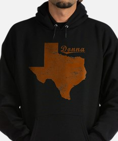 Donna, Texas (Search Any City!) Hoodie (dark)