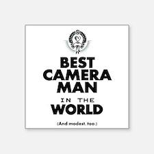 The Best in the World – Camera Man Sticker