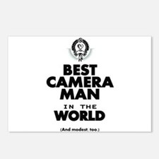 The Best in the World – Camera Man Postcards (Pack