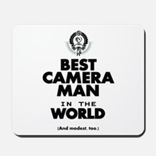 The Best in the World – Camera Man Mousepad