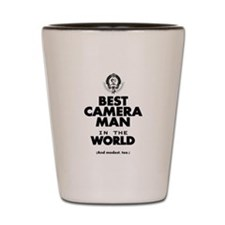 The Best in the World – Camera Man Shot Glass
