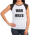 War Kills - Women's Cap Sleeve T-Shirt