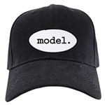 model. Black Cap
