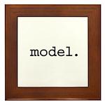 model. Framed Tile
