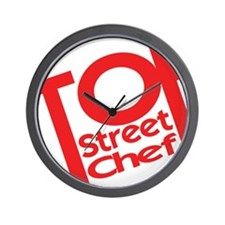Top Street Chef Wall Clock