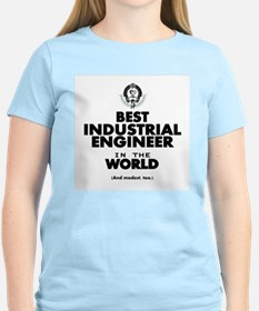 The Best in the World – Industrial Engineer T-Shir