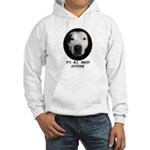 IT'S ALL ABOUT ATTITUDE (PIT BULL FACE) Hooded Swe