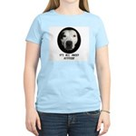 IT'S ALL ABOUT ATTITUDE (PIT BULL FACE) Women's Li