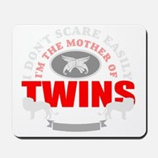 Brave mother of twins Mousepad